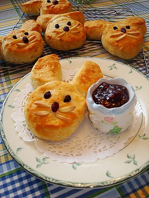 easter biscuits Cute easter food decorations ideas