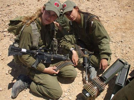 idf-womenammunition